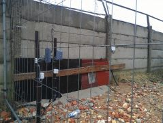 Criss crossing FMC microwave detectors in territory corner