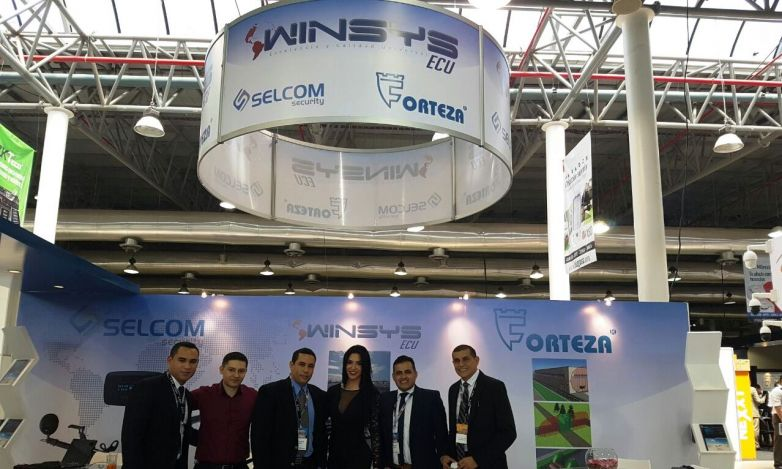 Participation in Security Fair in Ecuador