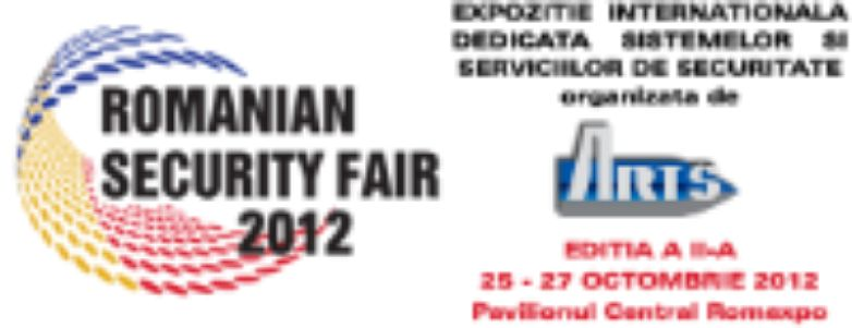 Invitation to attend ROMANIAN SECURITY FAIR 2012